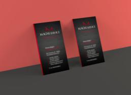 Magni Service - Business card